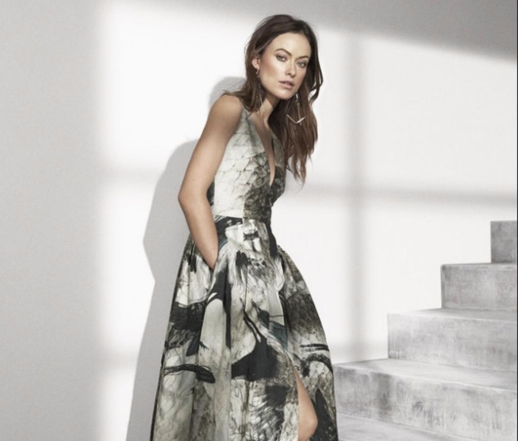 Оливия Уайлд в рекламной кампании H&M Conscious Exclusive 2015: первый взгляд