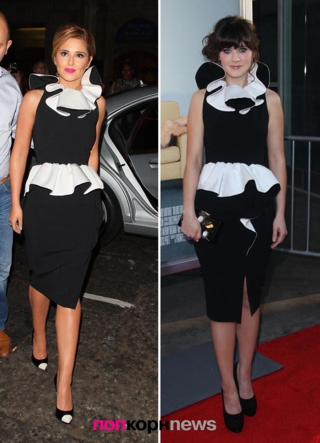 Fashion Battle: Шерил Коул и Зои Дешанель