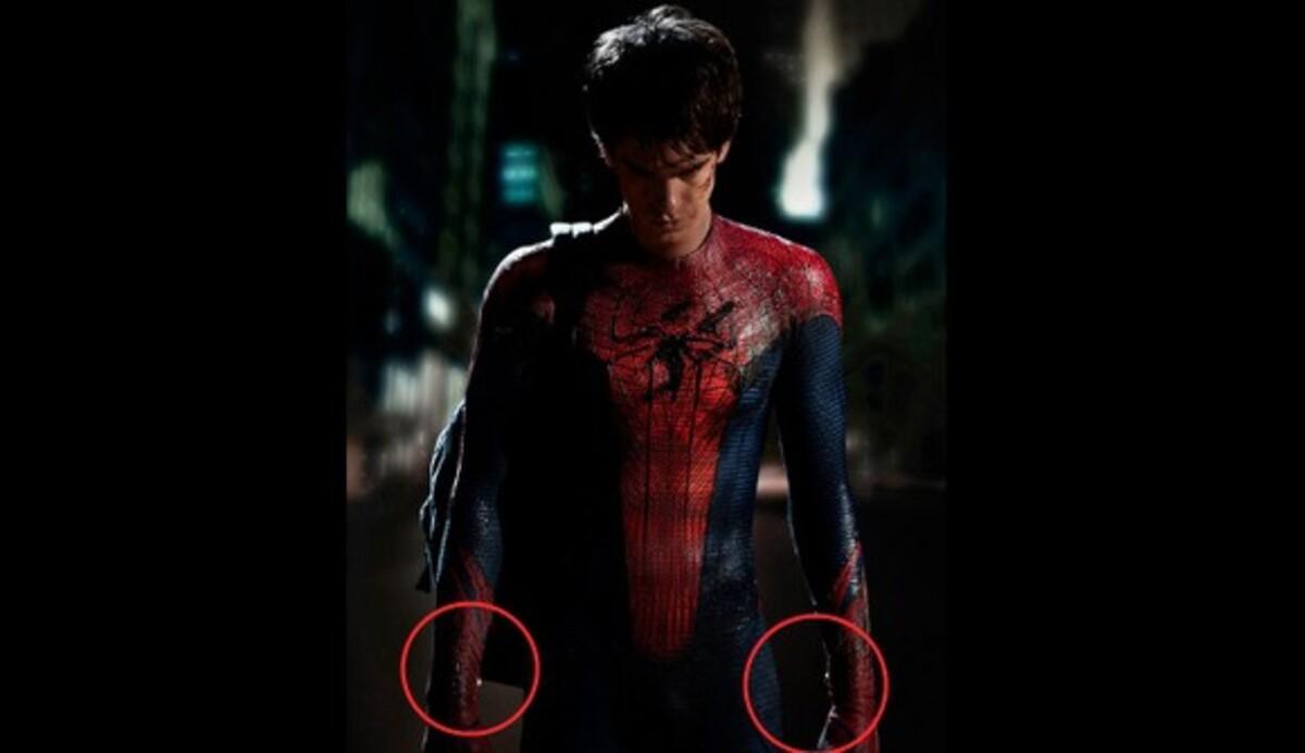 Новые элементы костюма Человека-паука