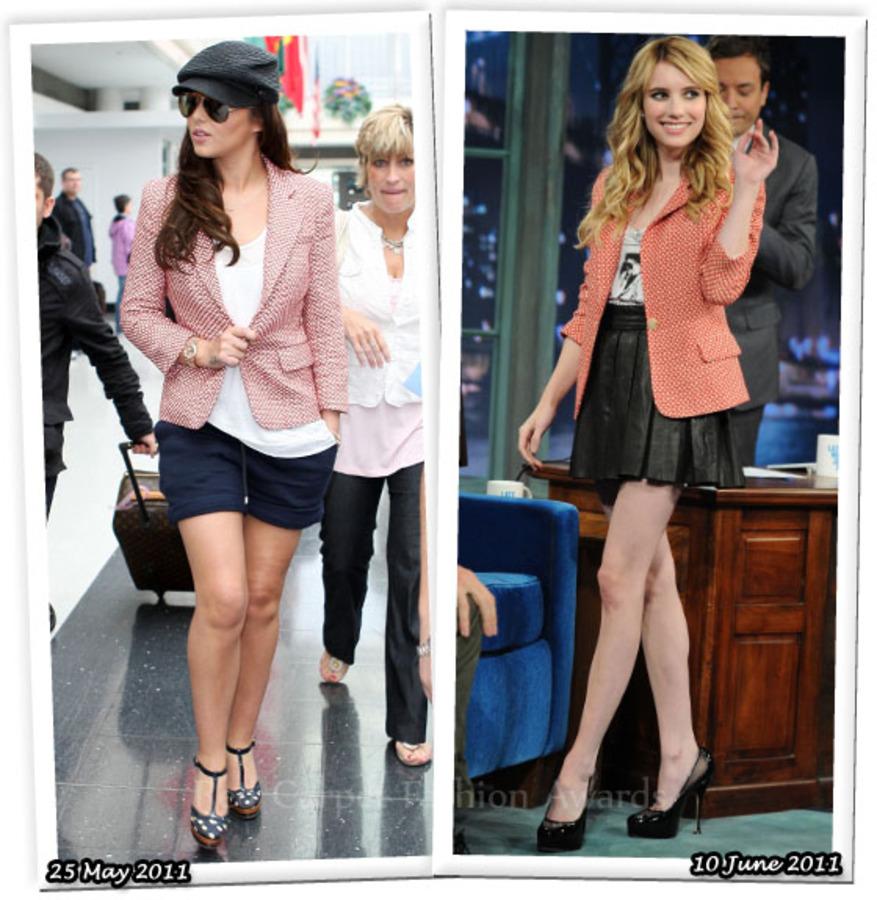 Fashion Battle: Шерил Коул и Эмма Робертс