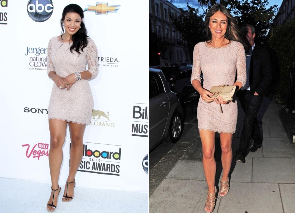 Fashion battle: Джордин Спаркс и Элизабет Херли