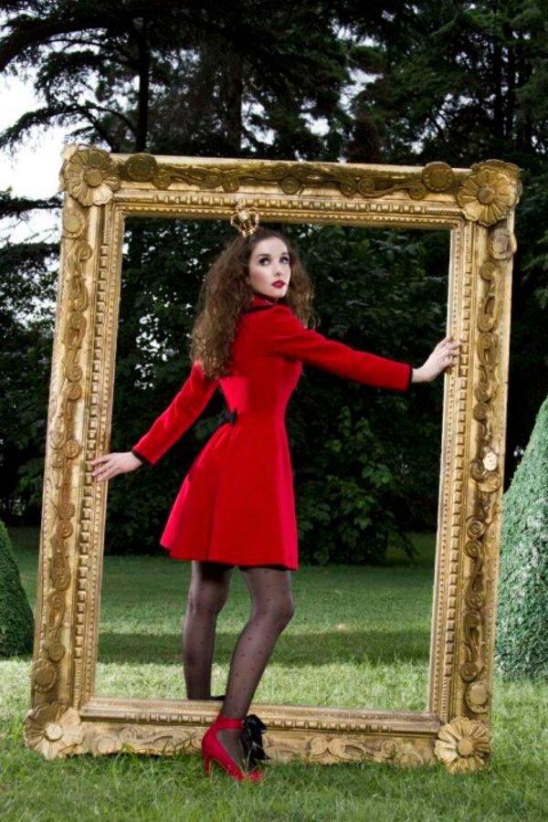 Наталья Орейро в рекламе своей линии одежды