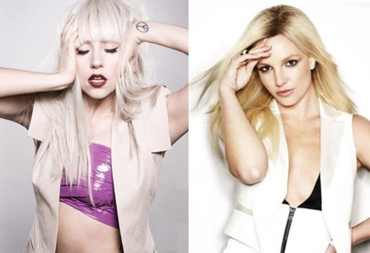 Геи предпочитают не Lady GaGa, а Бритни Спирс