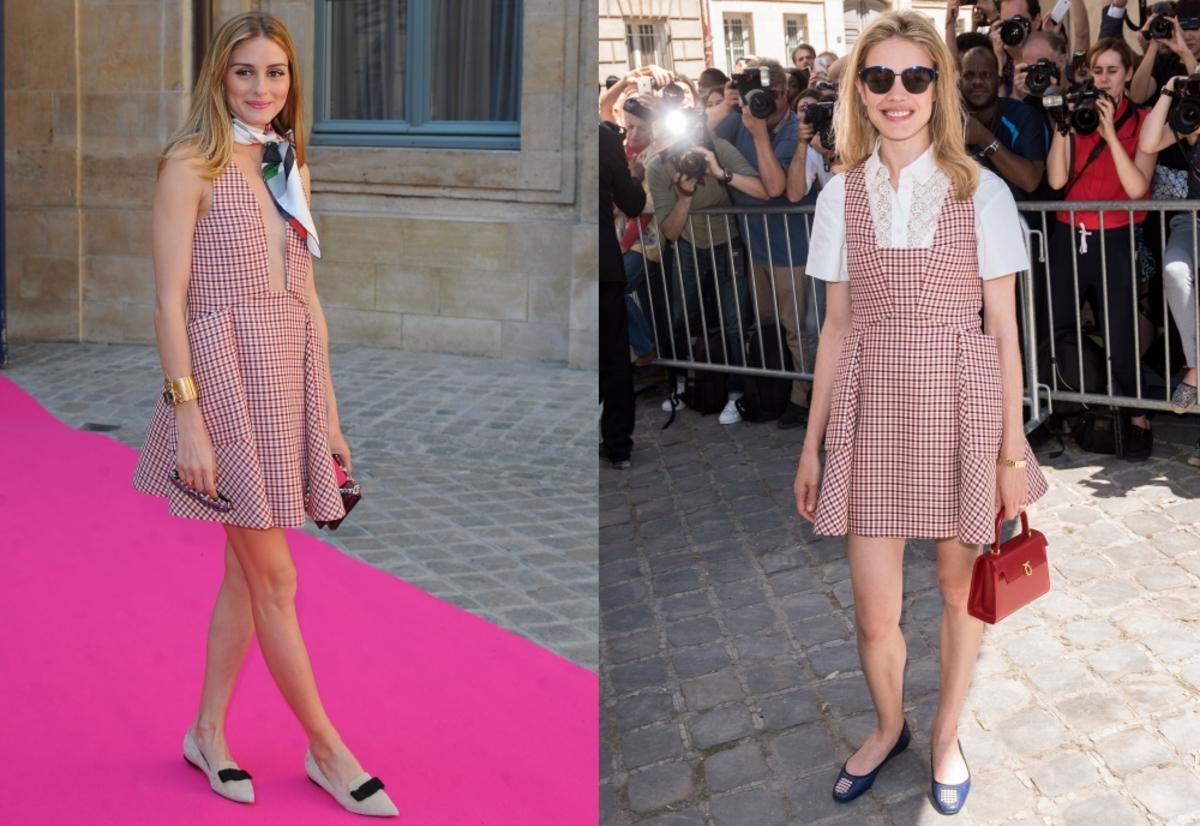 Fashion battle: Оливия Палермо и Наталья Водянова