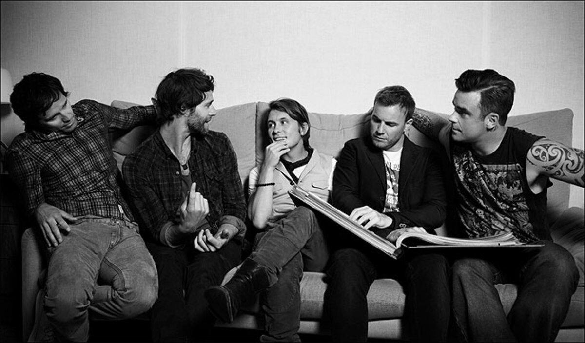 Тизер нового клипа Take That - The Flood