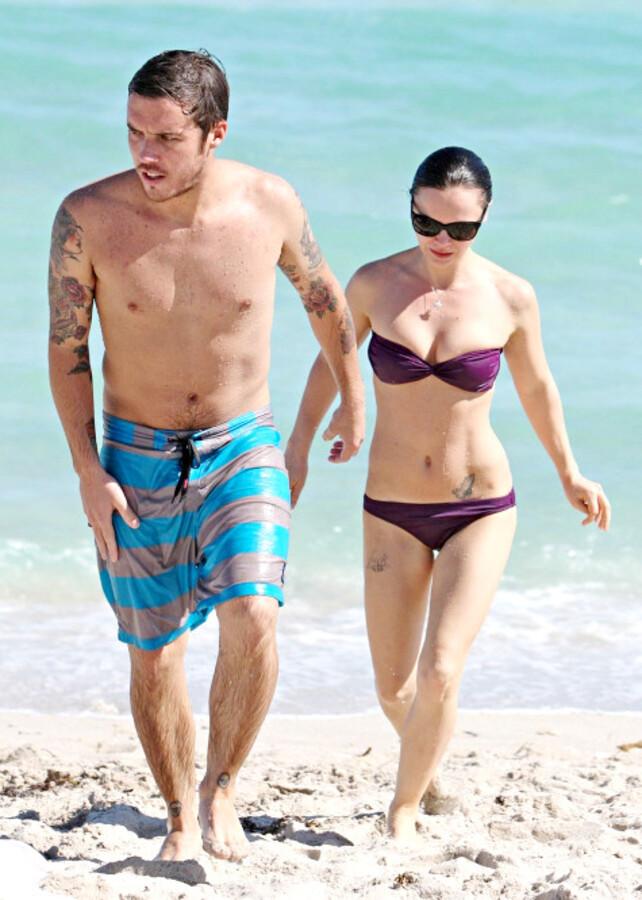 В кадре: Кристина Риччи и ее бойфренд в Майами