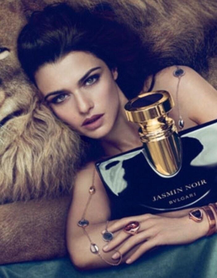 Рэйчел Вайс для рекламы аромата Bvlgari Jasmin Noir