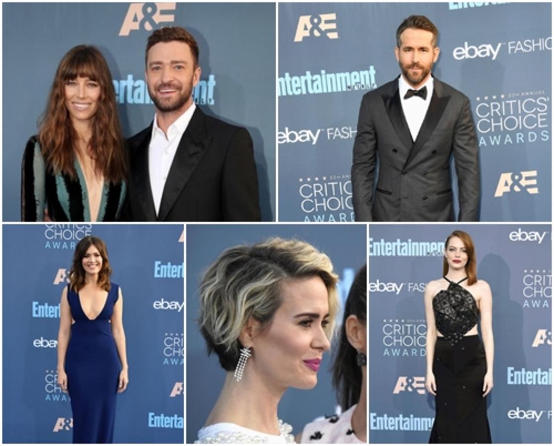 Райан Рейнольдс, Эмма Стоун, Джастин Тимберлейк и другие звезды на красной дорожке Critics' Choice Awards 2016
