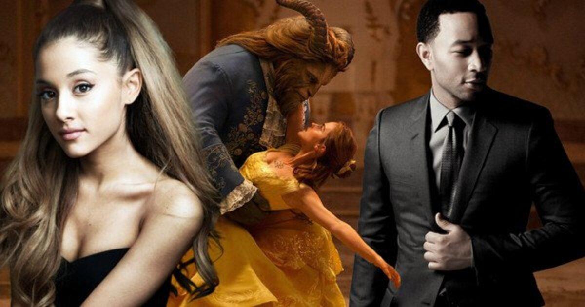 Ариана Гранде и Джон Ледженд записали песню для «Красавицы и Чудовища»