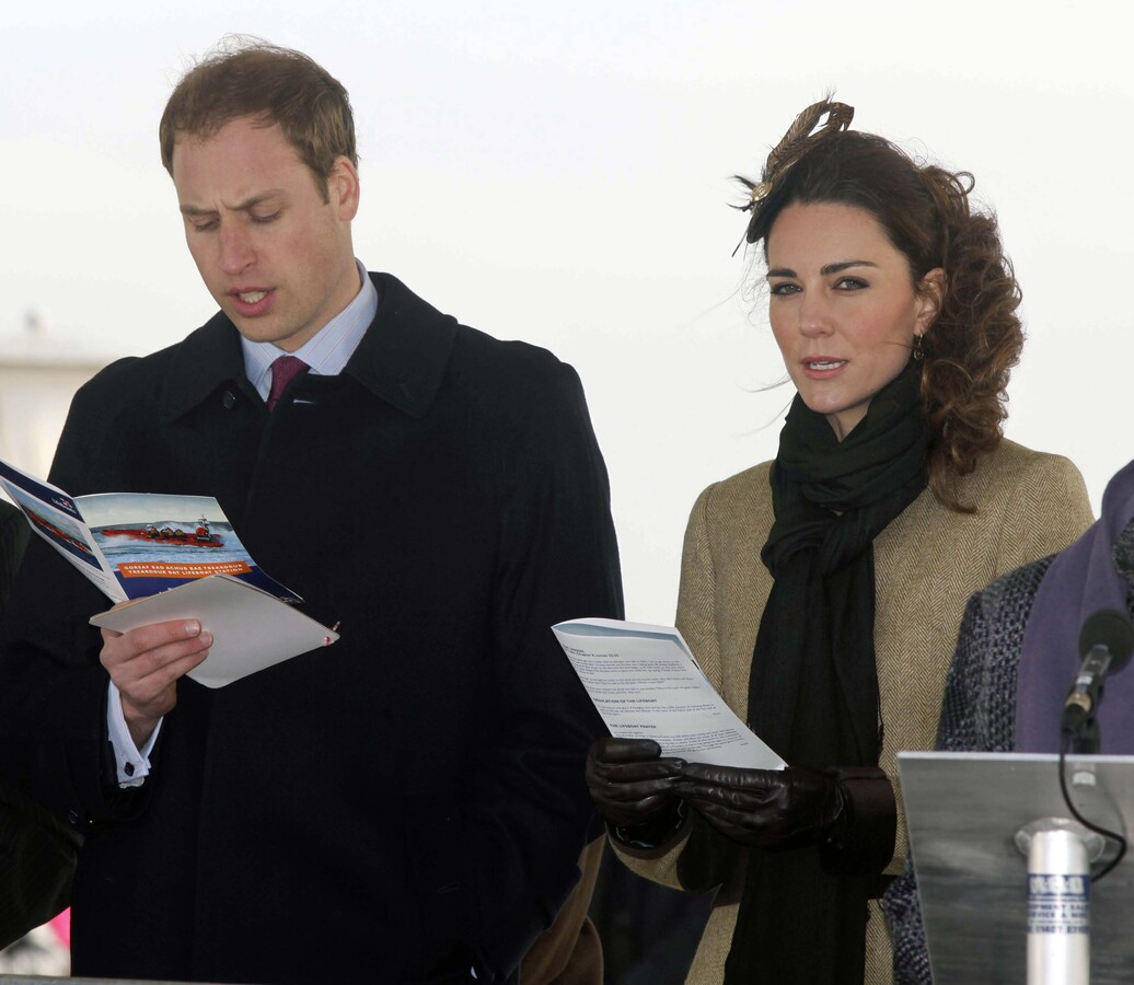 Первое официальное появление принца Уильяма и Кейт Миддлтон