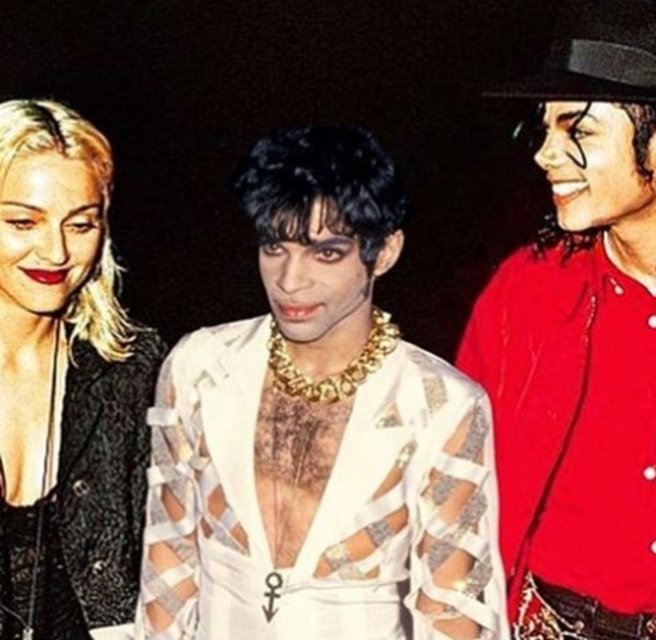 Мадонна опубликовала фейковое фото с Майклом Джексоном и Принсом