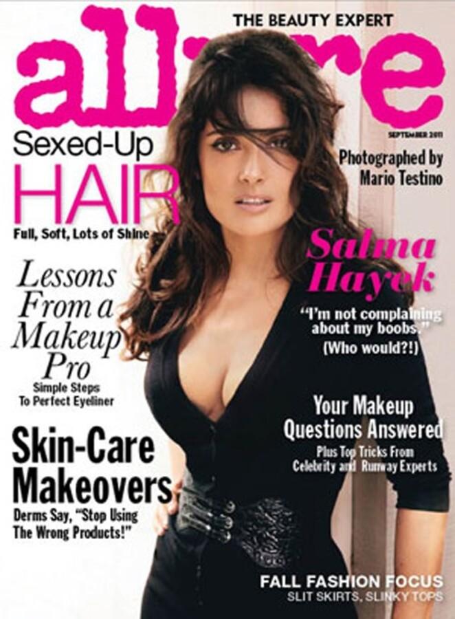 Сальма Хайек в журнале Allure. Сентябрь 2011