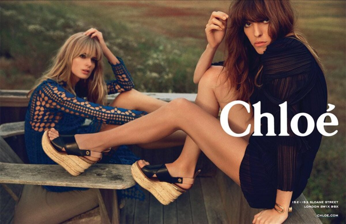 Рекламная кампания Chloe. Весна / Лето 2014