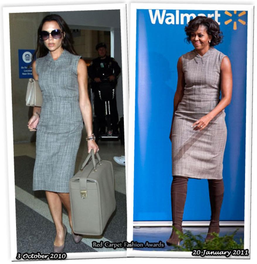 Fashion Battle: Виктория Бэкхем и Мишель Обама