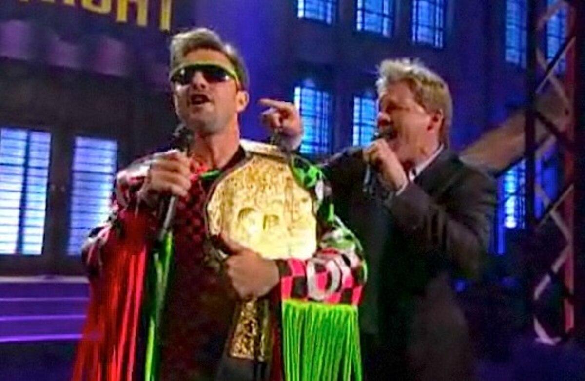 Дэвид Аркет и Крис Джерико спели «Total eclipse of the heart»