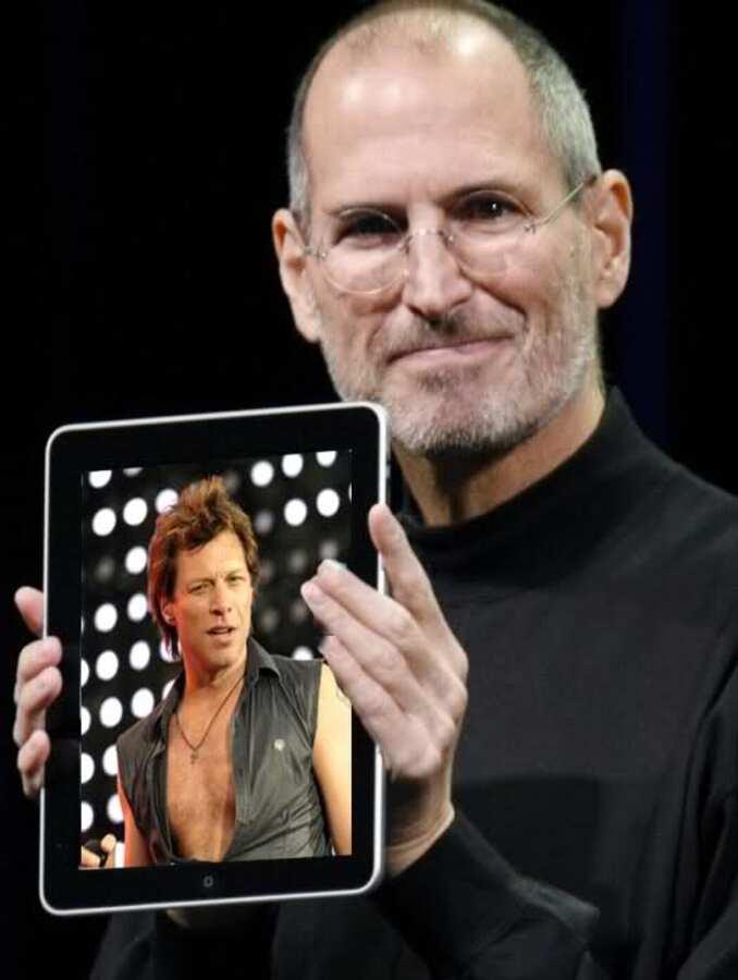 Бон Джови: Стив Джобс убил музыку