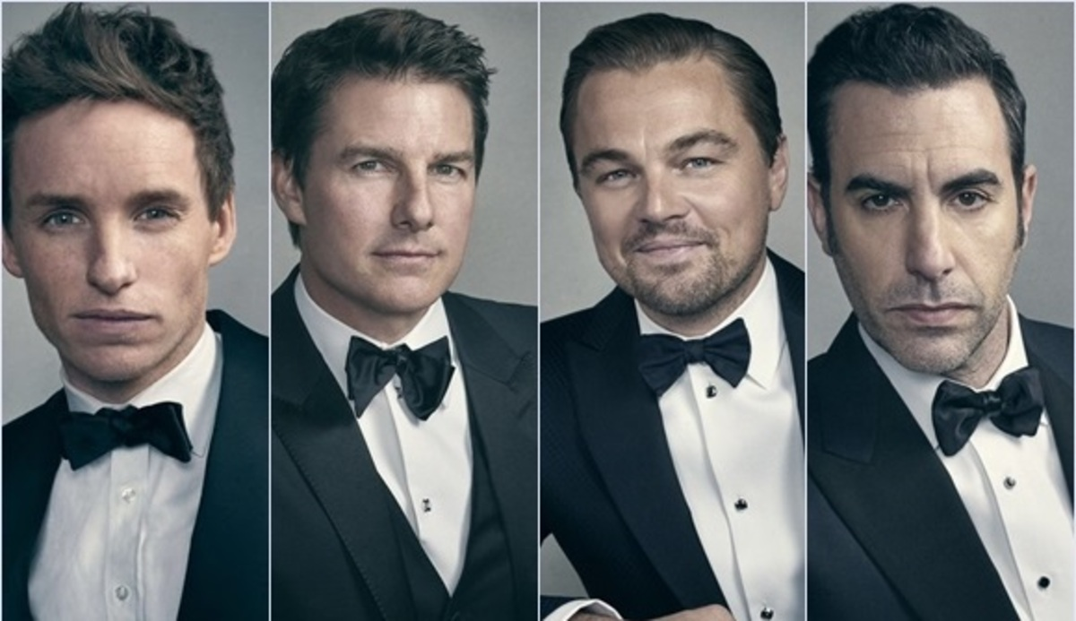 Том Круз, Леонардо ДиКаприо, Эдди Редмэйн и другие актеры в фотосете GQ, май 2016