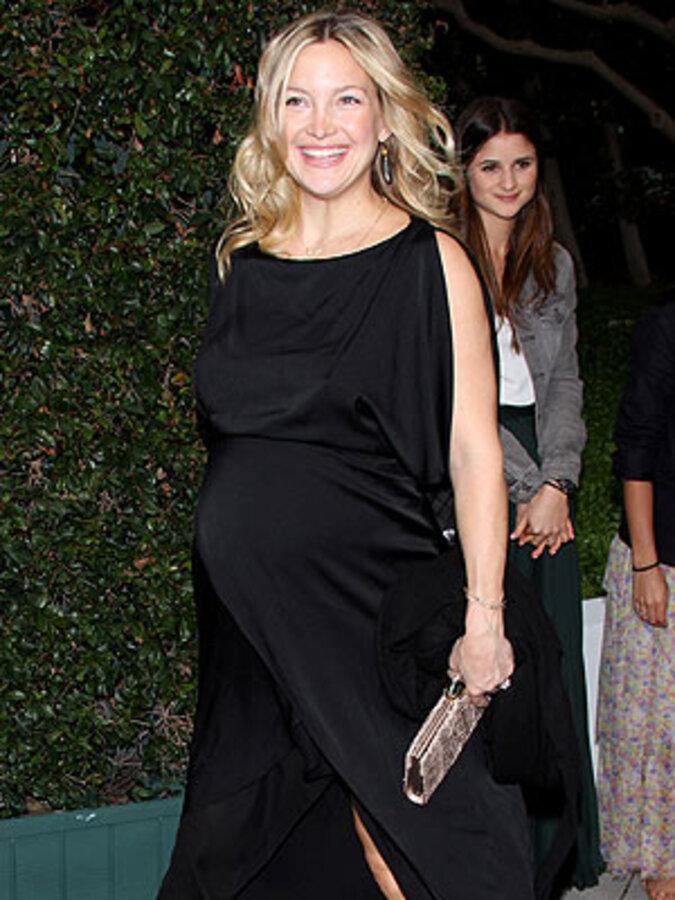 Кейт Хадсон устроила вечеринку в честь своего ребенка