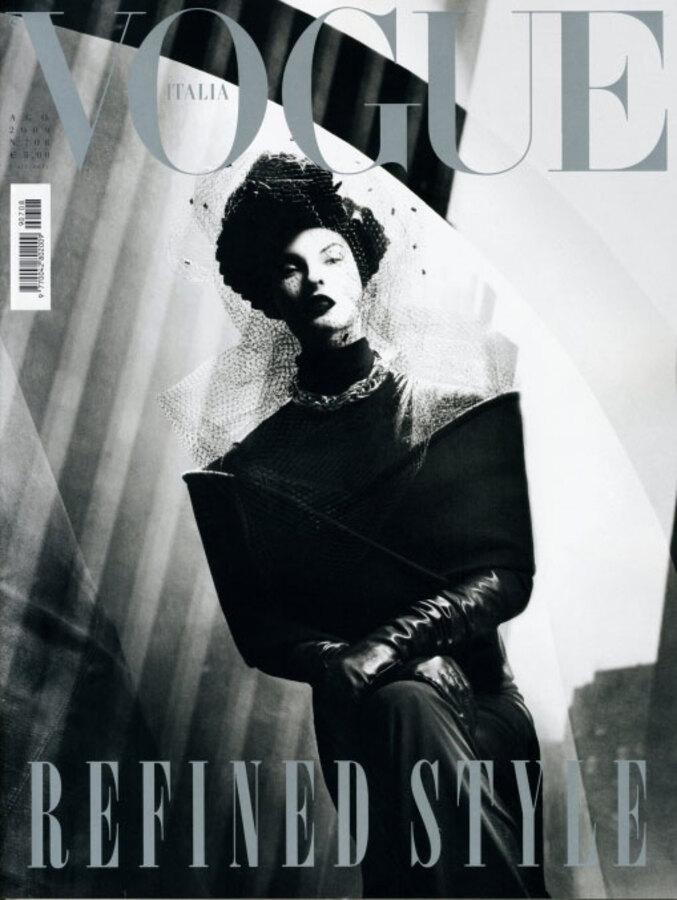 Линда Евангелиста в журнале Vogue Италия. Август 2009