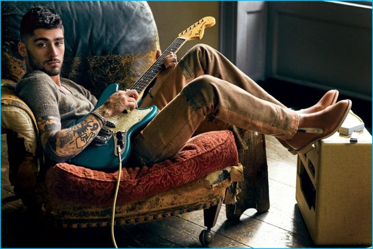 Зейн Малик снялся в фотосессии для американского GQ