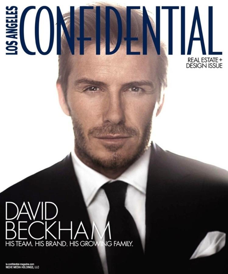 Дэвид Бэкхем в журнале LA Confidential