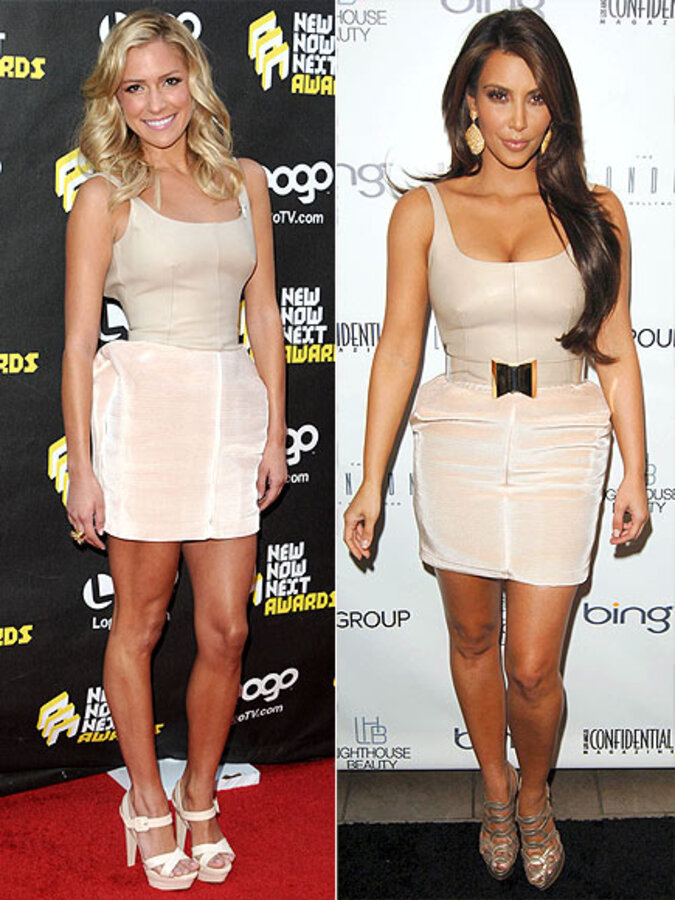 Fashion battle: Кристин Каваллари и Ким Кардашиан