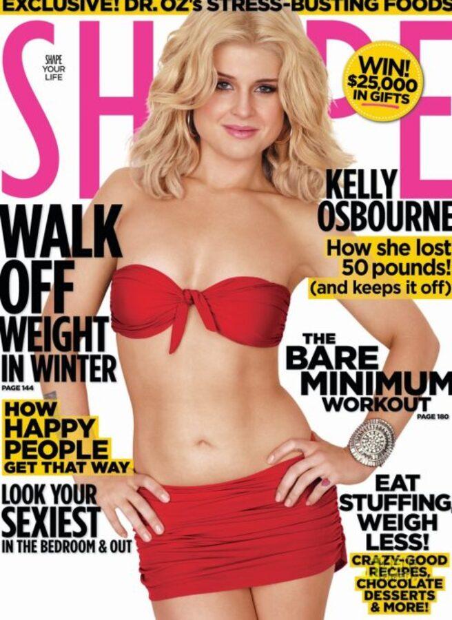 Келли Осборн на обложке журнала Shape. Декабрь 2010