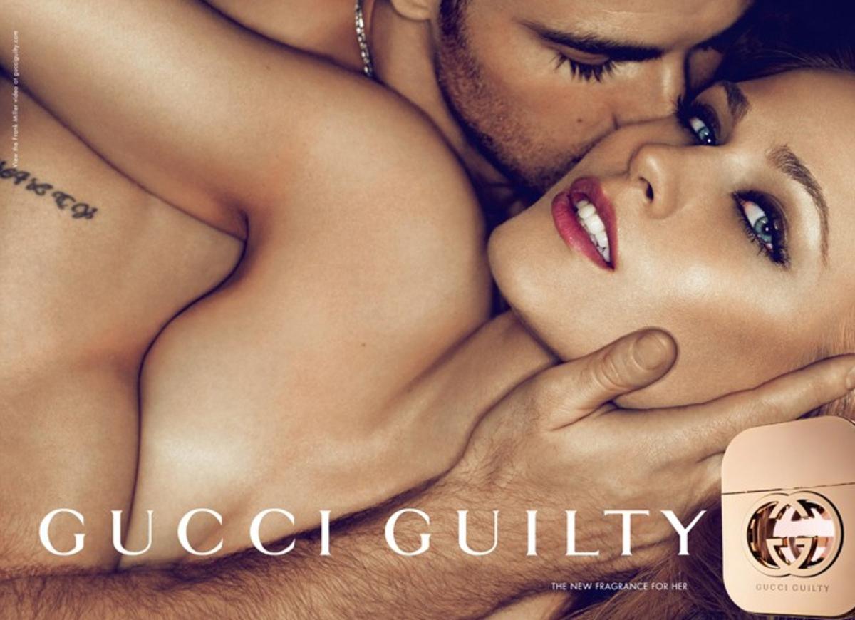 Видео: реклама  туалетной воды Gucci Guilty от Фрэнка Миллера