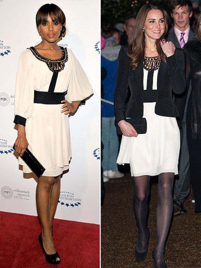 Fashion Battle: Керри Вашингтон и Кейт Миддлтон