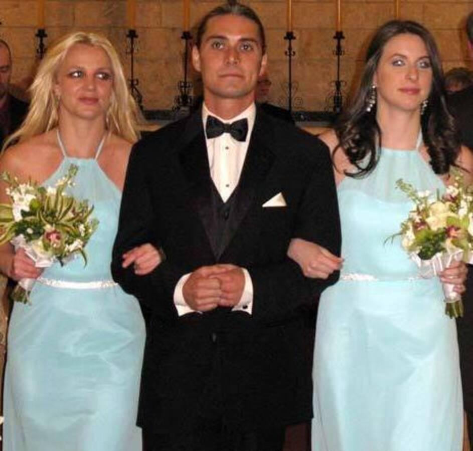 Видео: Бритни Спирс на свадьбе подруги