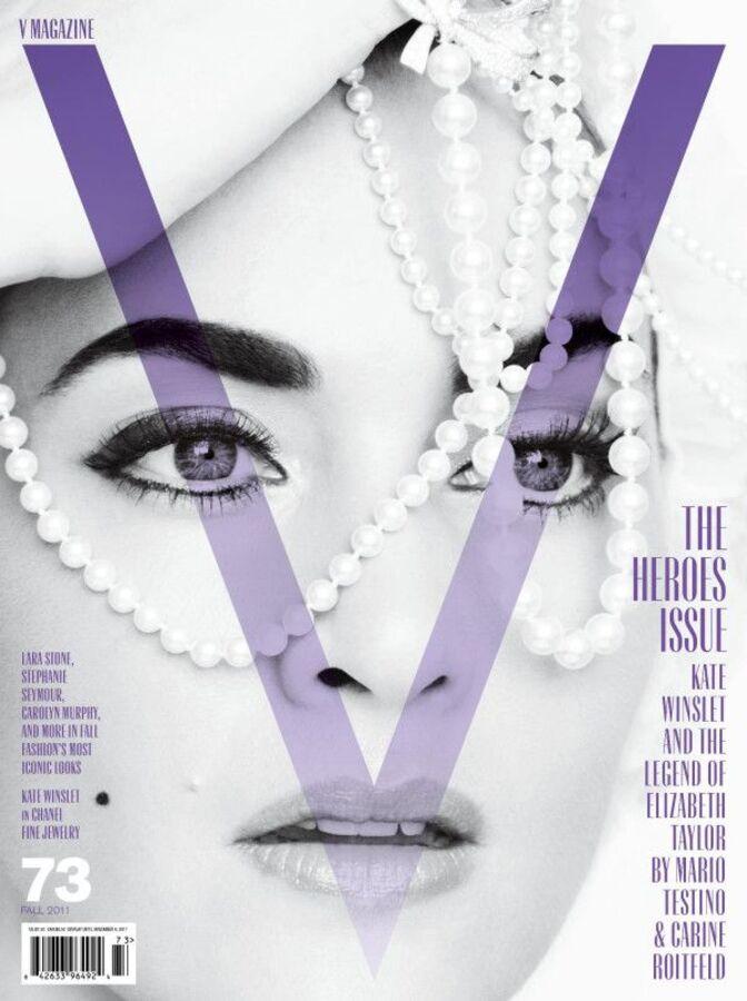 Кейт Уинслет в журнале V Осень #73