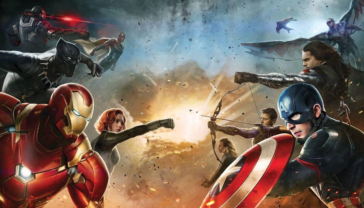 Звезды выбрали победителя в противостоянии Капитана Америки и Железного человека