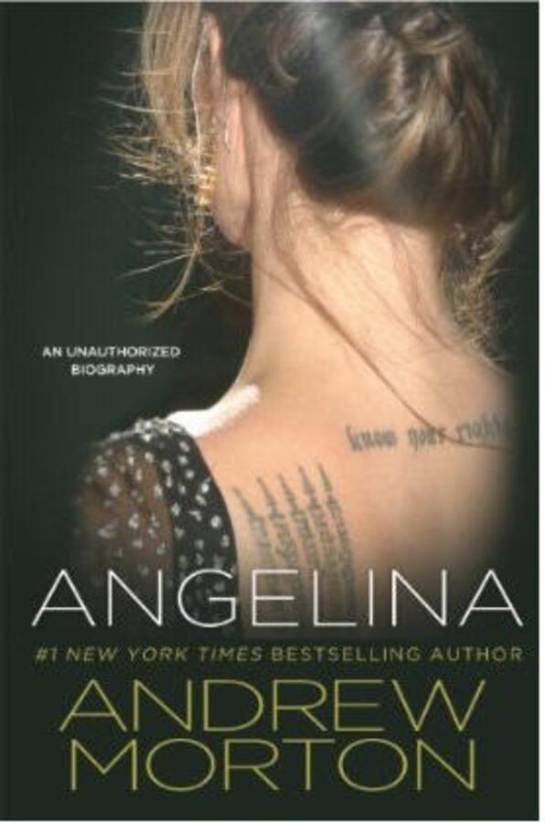 Обложка книги об Анджелине Джоли