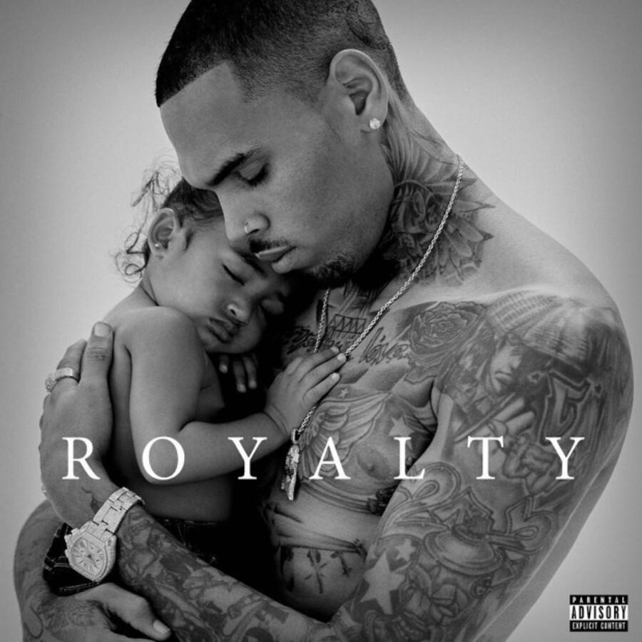 На обложке нового альбома Крис Браун появится вместе с дочерью