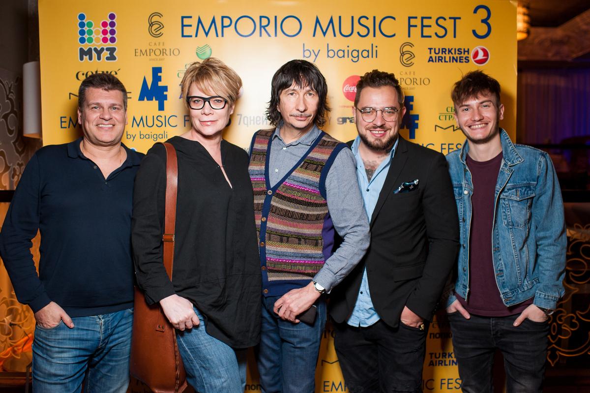 «Друзья по постели» одержали победу в первый конкурсный день EmporioMusicFest