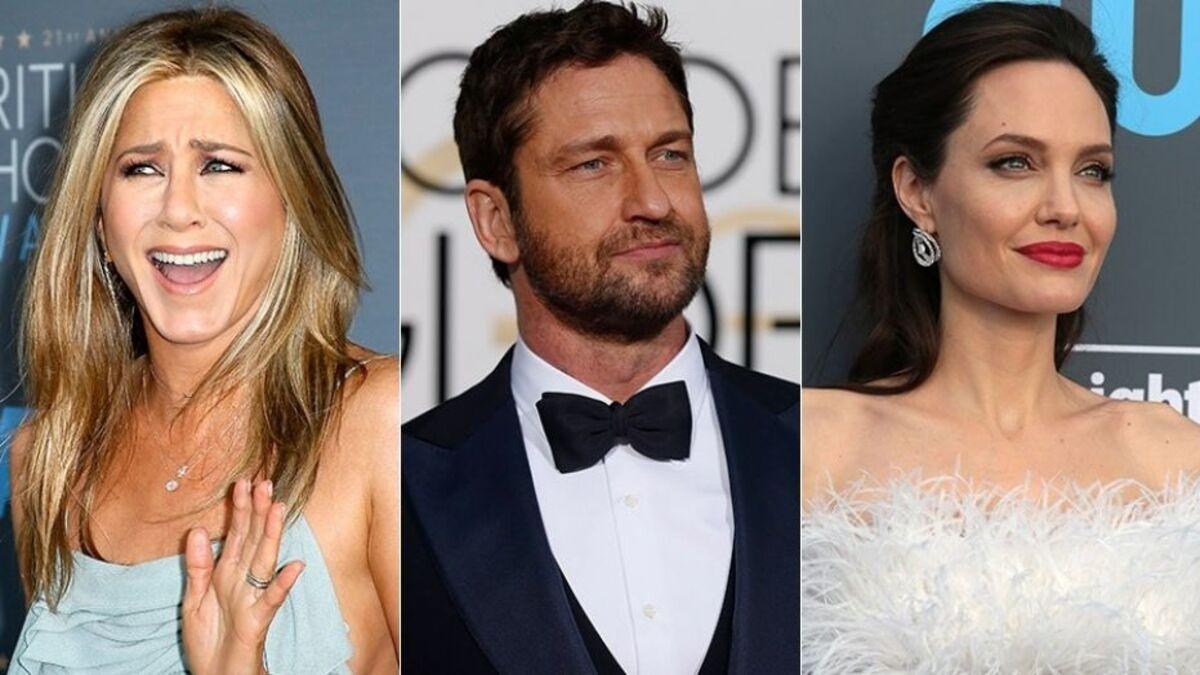 Джерард Батлер рассказал, кто целуется лучше – Дженнифер Энистон или Анджелина Джоли