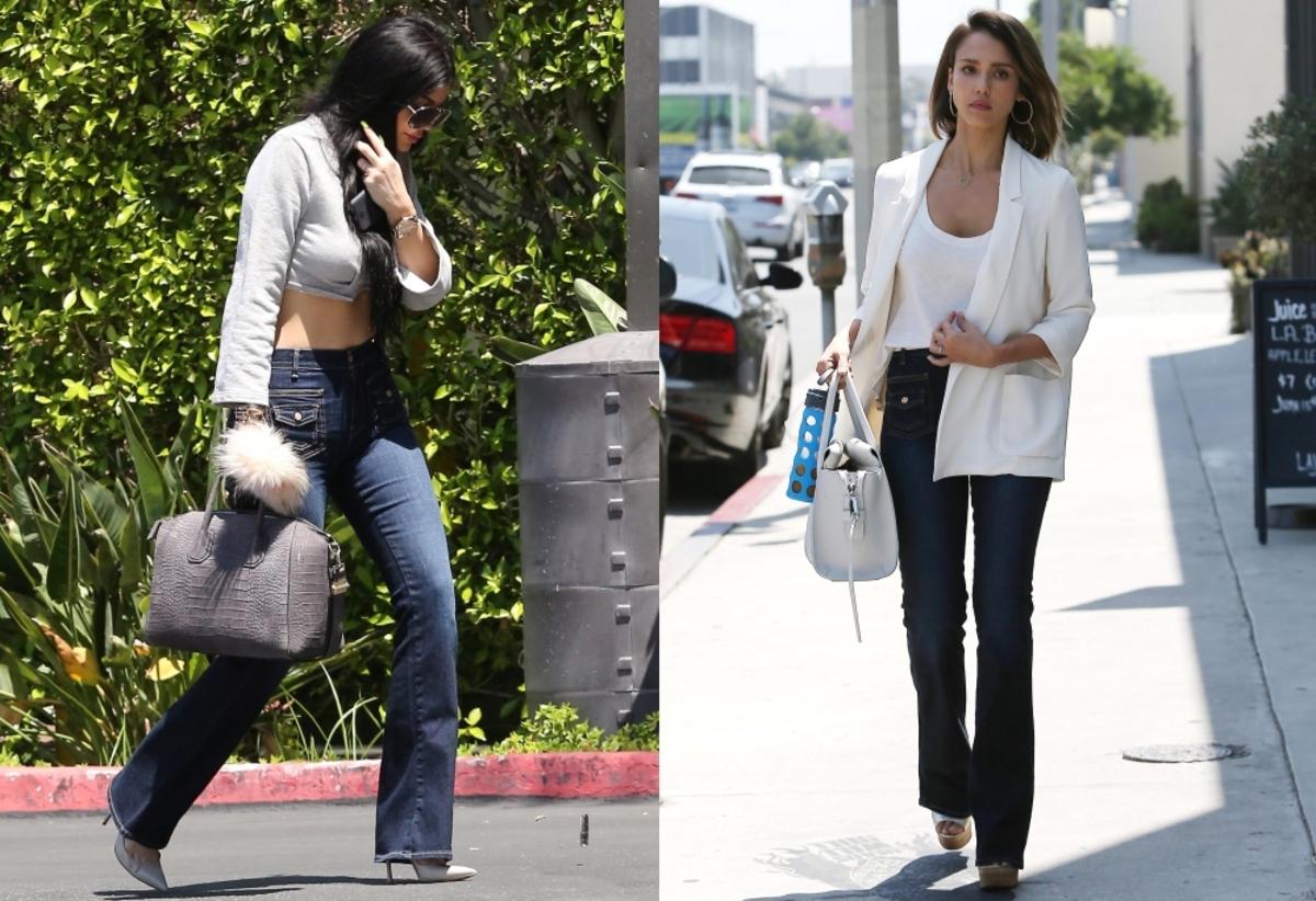 Fashion battle: Кайли Дженнер и Джессика Альба