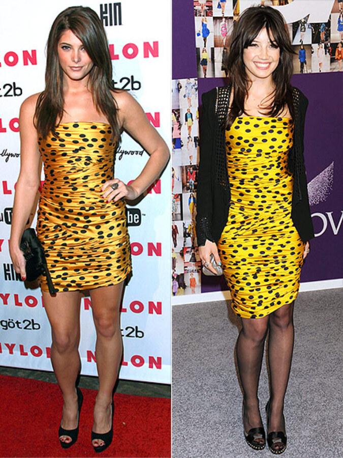 Fashion battle: Эшли Грин и Дэйзи Лоу