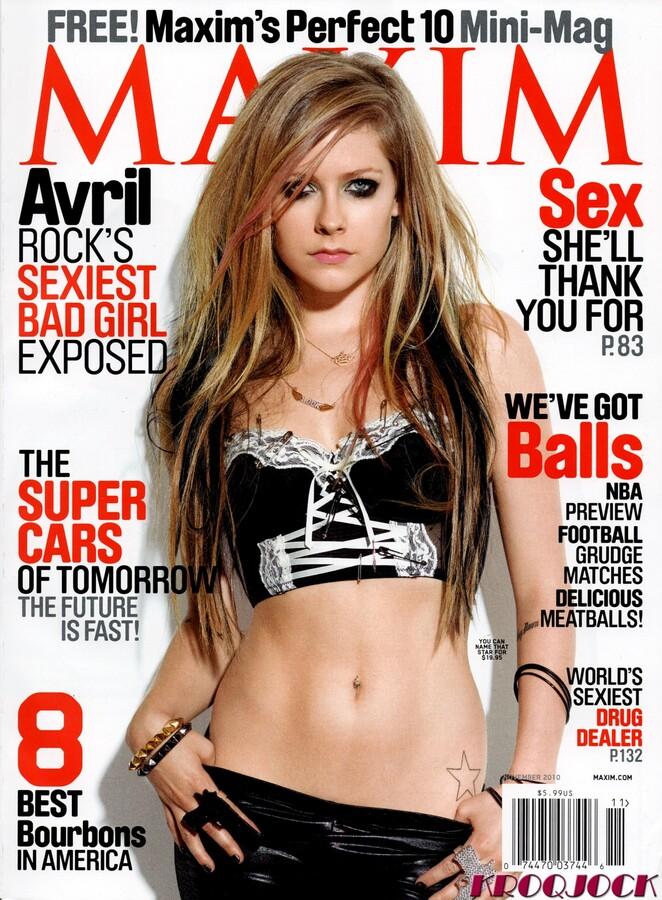 Аврил Лавин в журнале Maxim. Ноябрь 2010