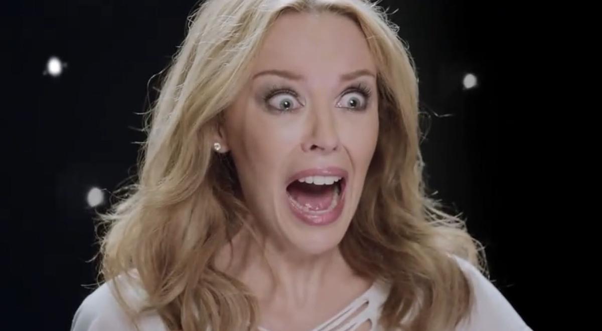 """Кайли Миноуг в рекламе XBOX """"Dance Central"""""""
