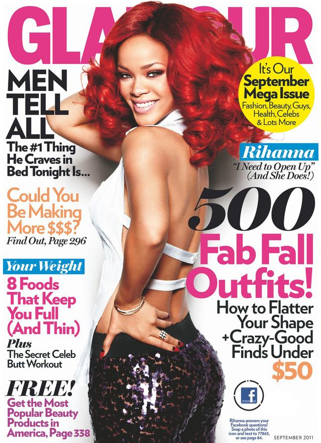 Рианна в журнале Glamour. Сентябрь 2011