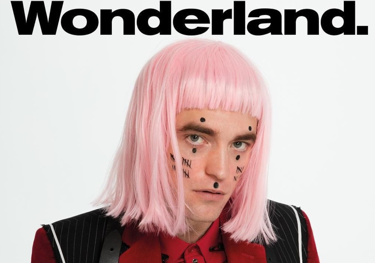 Роберт Паттинсон в фотосессии для нового выпуска Wonderland