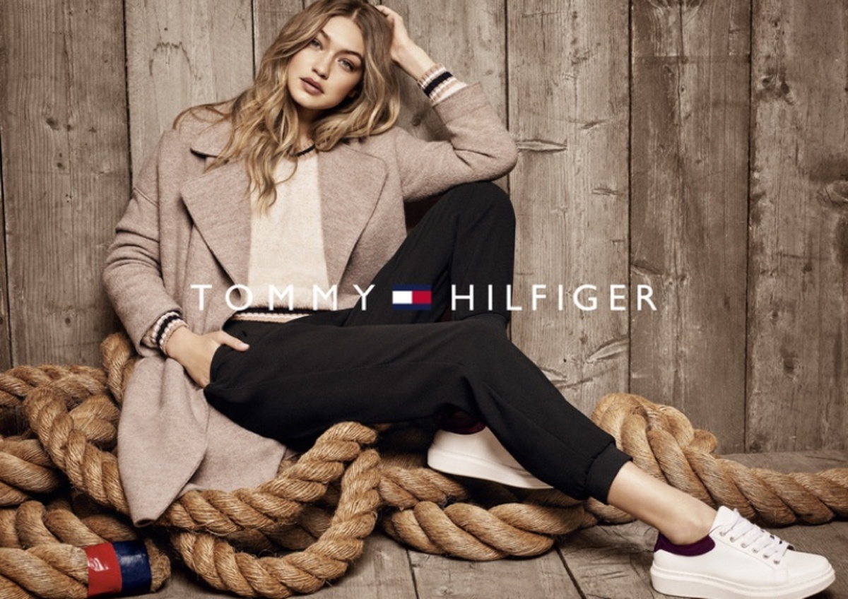 Джиджи Хадид снялась в рекламной кампании Tommy Hilfiger осень-зима 2016-2017