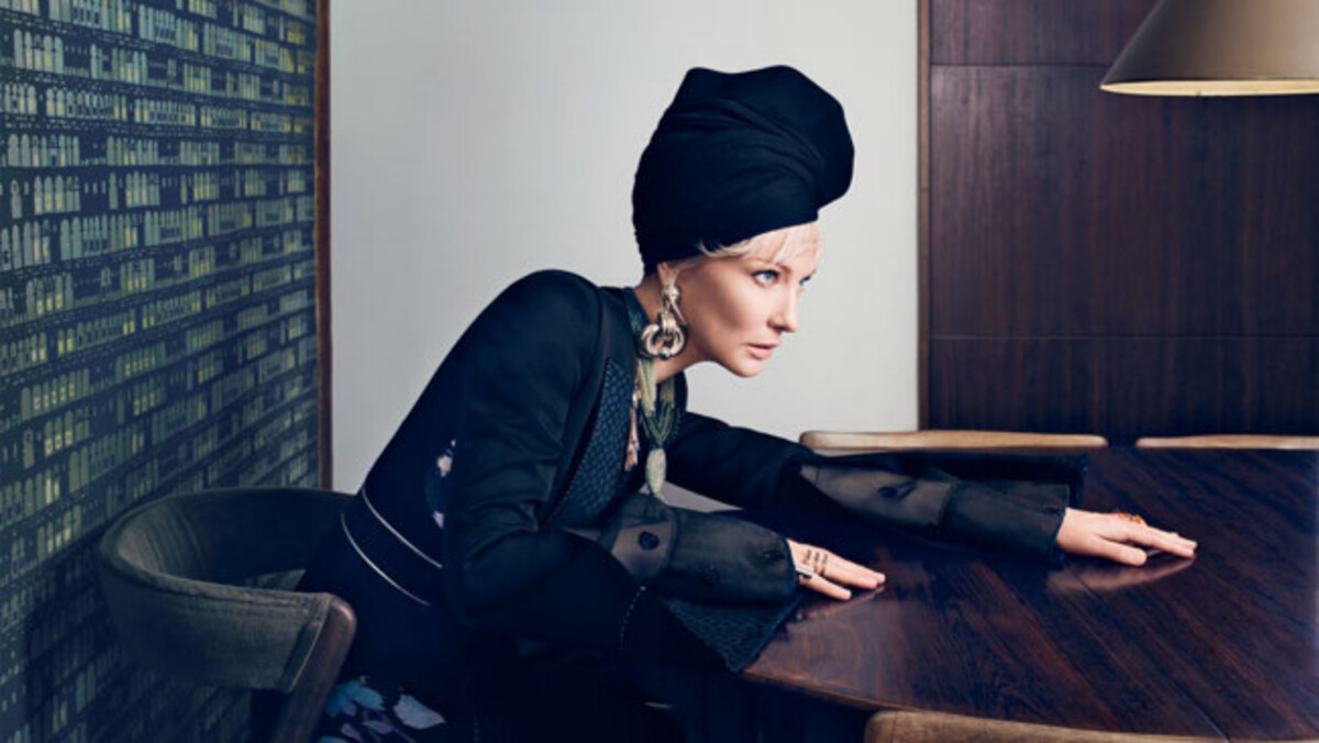 Кейт Бланшетт в журнале Vogue Австралия. Апрель 2015