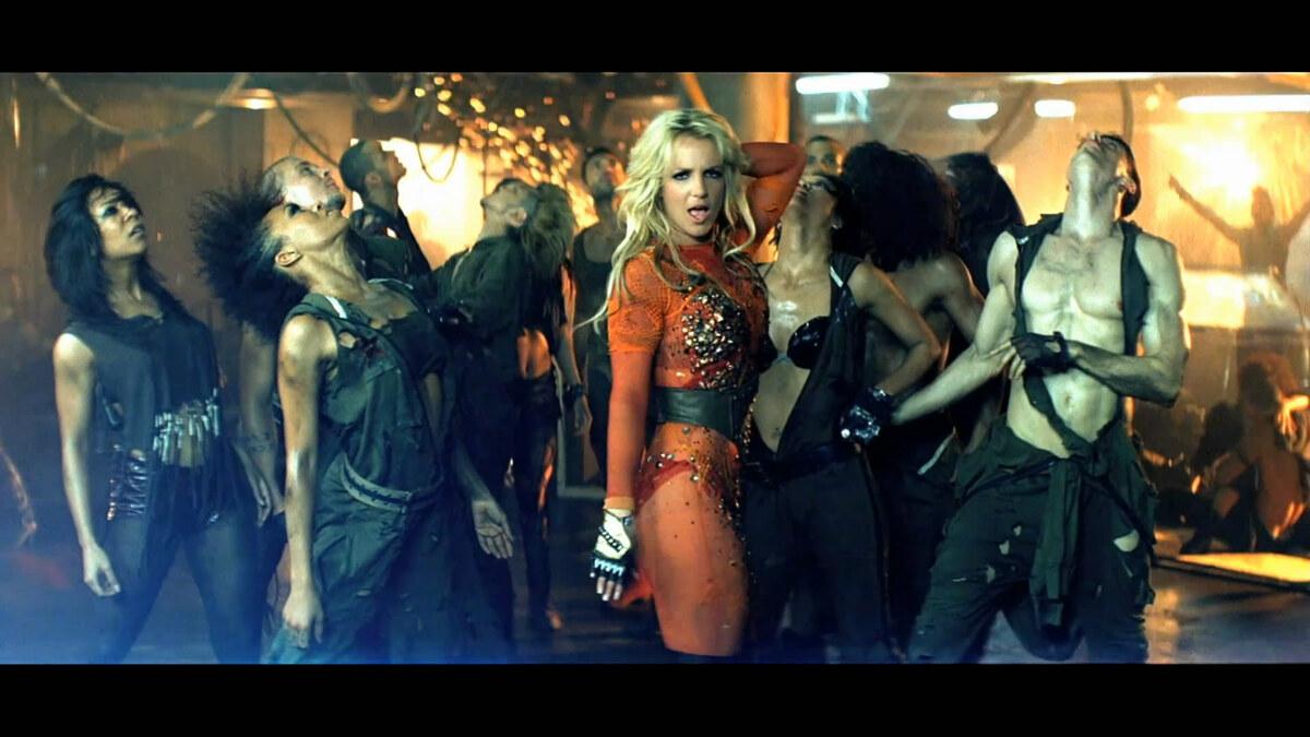 Клип Бритни Спирс - Till the World Ends (Dance Version)