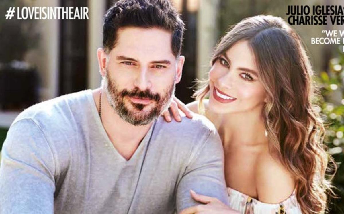 София Вергара и Джо Манганьелло вместе снялись для обложки глянца