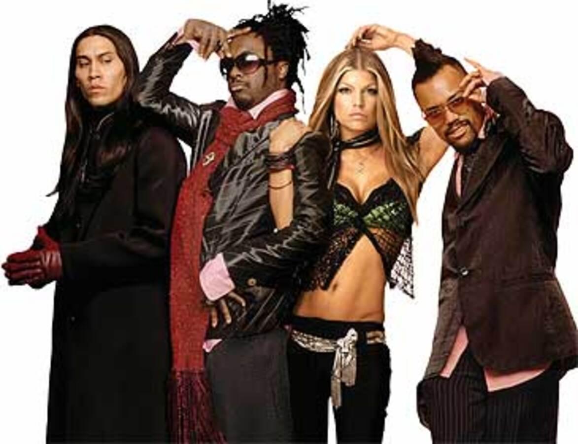 The Black Eyed Peas крадут музыку