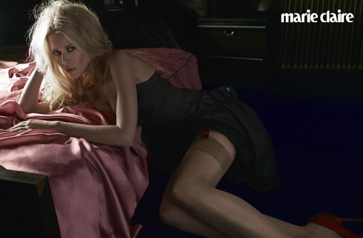Клаудиа Шиффер в журнале Marie Claire. Март 2014