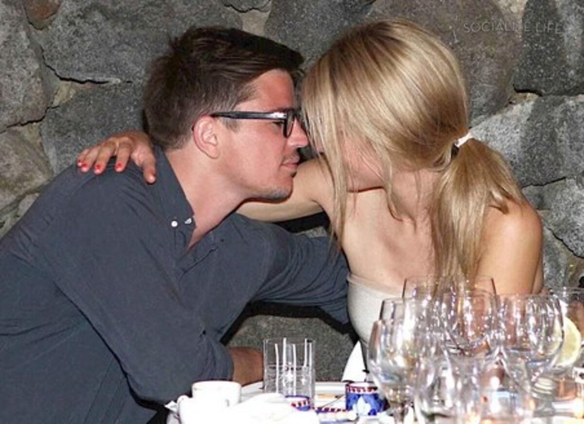 Джош Хартнетт и его девушка в Италии