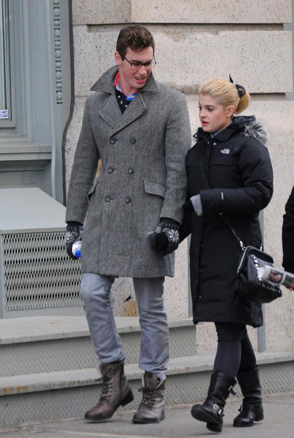 Келли Осборн с новым бойфрендом в Сохо
